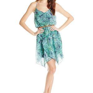 Speechless Leaf Print Ruffle Dress Size XS